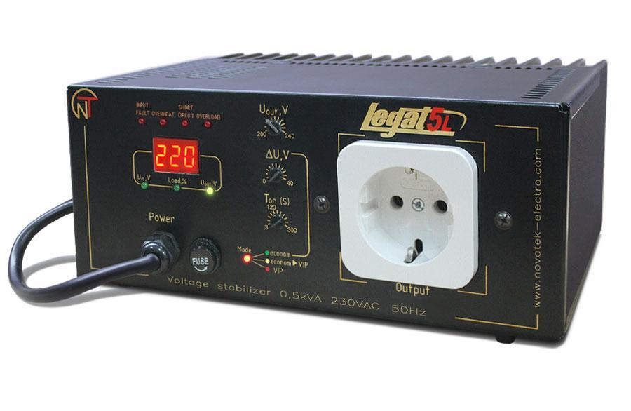 Spannungsstabilisator Legat-5L, фото