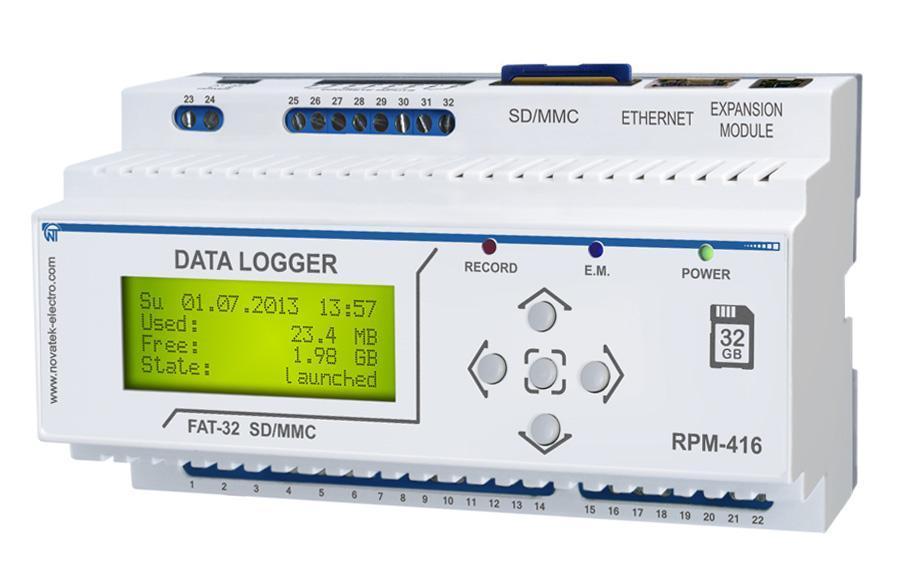 Datenlogger RPM-416, фото