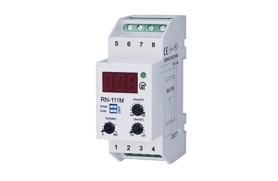 The RN-111M single-phase voltage monitoring relay, фото