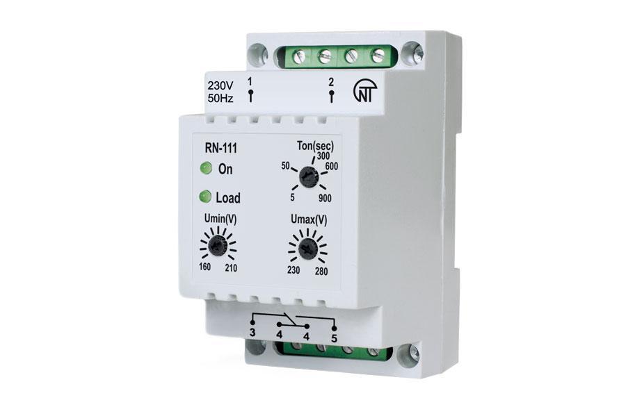 RN-111 single-phase voltage monitoring relay - Novatek