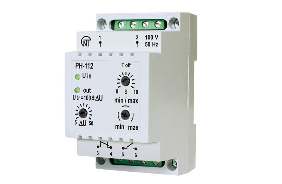 PH-112 Universal Under-Voltage / Overvoltage Relay, фото