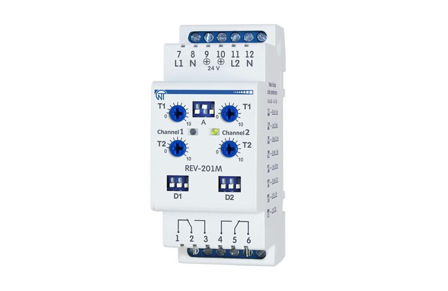 REV-201M multifunctional time relay, фото