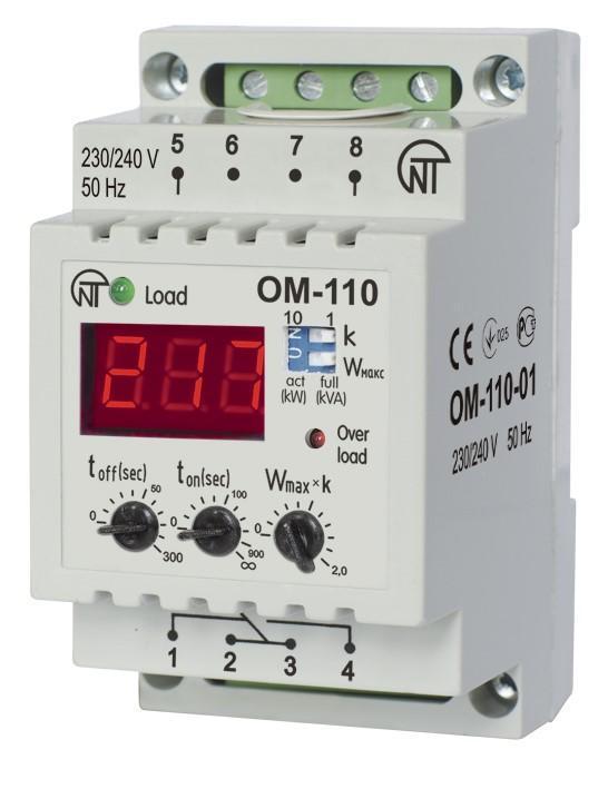 Jednofazowy ogranicznik mocy OM-110-01, фото