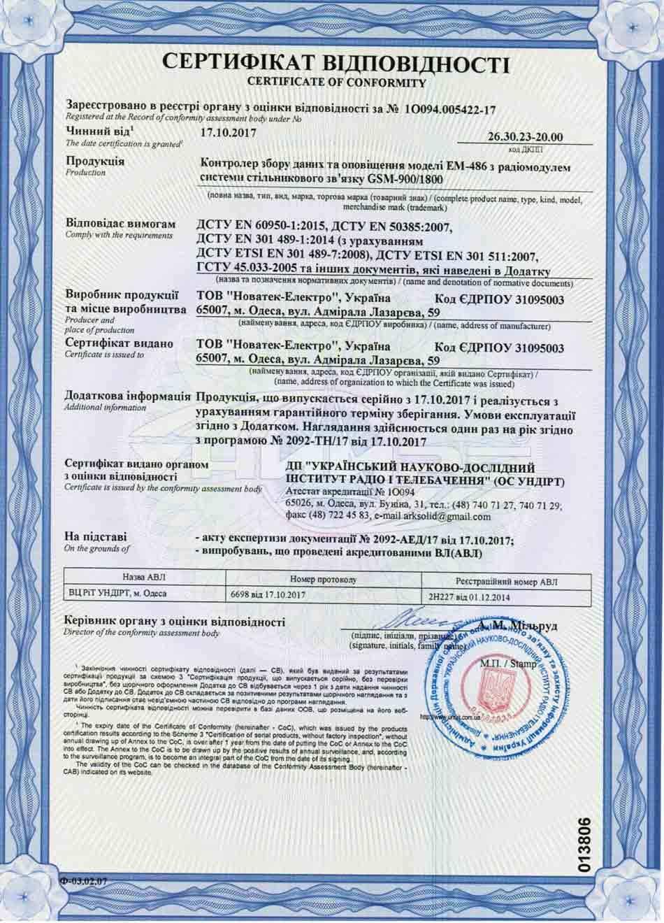 Сертификаты, фото № 18