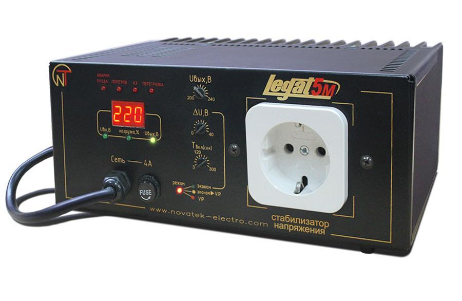 Безтрансформаторний стабілізатор Legat-5М, фото