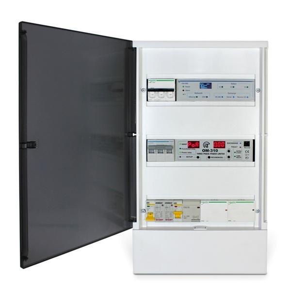 Управління електроопаленням та водонагрівом Overvis Electroheat