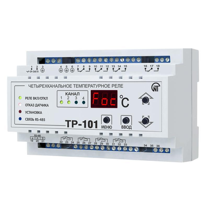 Цифрове температурне реле ТР-101