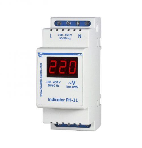 Однофазный цифровой индикатор напряжения РН-11, фото