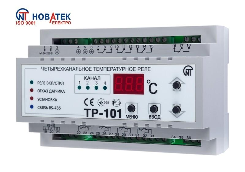 Цифровое температурное реле ТР-101, фото