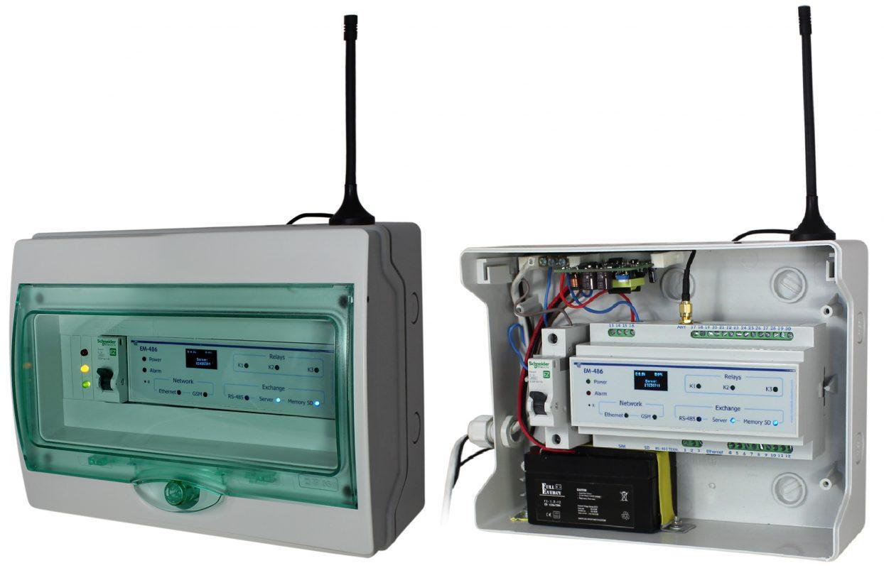 Мониторинг и удаленное управление для холодильного оборудования Overvis Iсe, ����