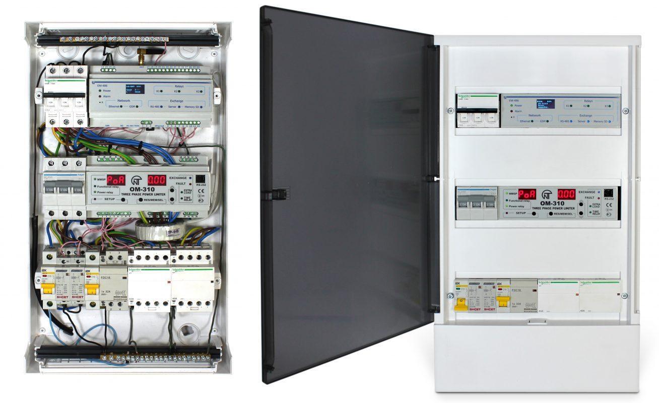 Управление электроотоплением и водонагревом Overvis Electroheat, фото