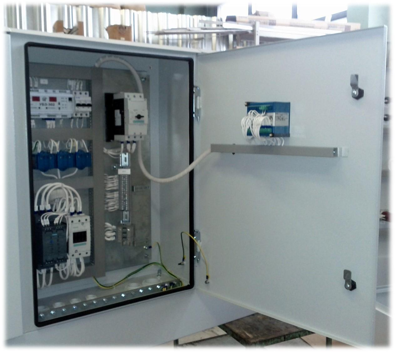 захист електродвигуна УБЗ-302