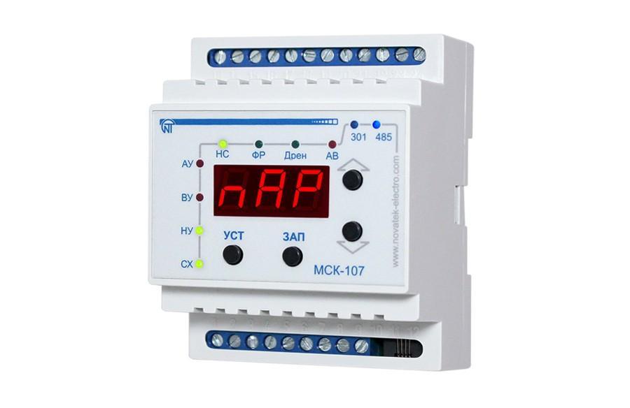 Контроллер насосной станции МСК-107, ����