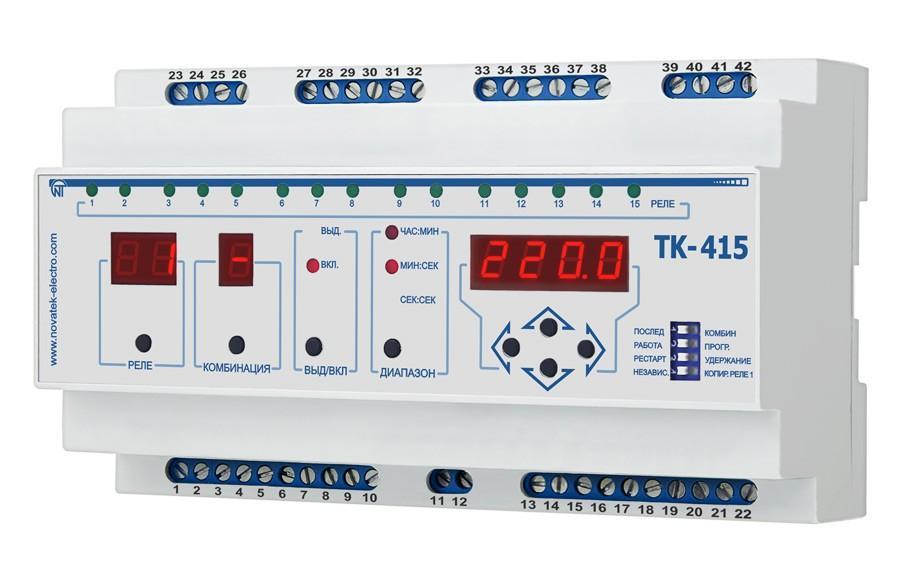 Последовательно-комбинационный таймер ТК-415, ����