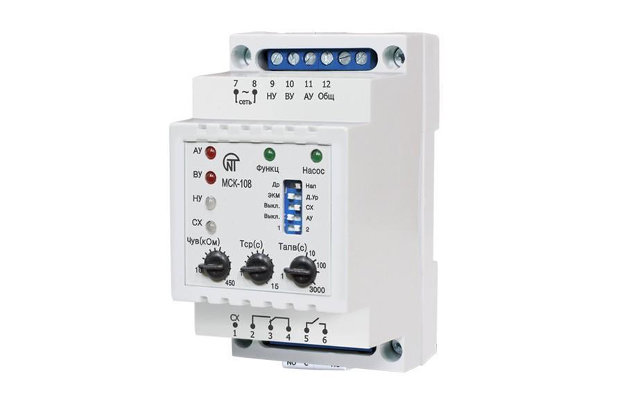 Контроллер насосной станции МСК-108, ����