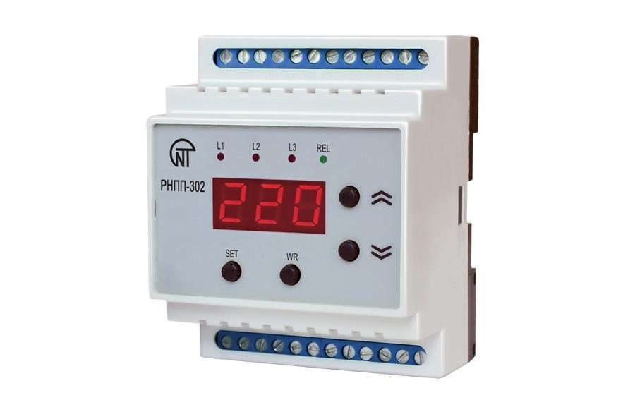 Трехфазное реле напряжения и контроля фаз РНПП-302, ����