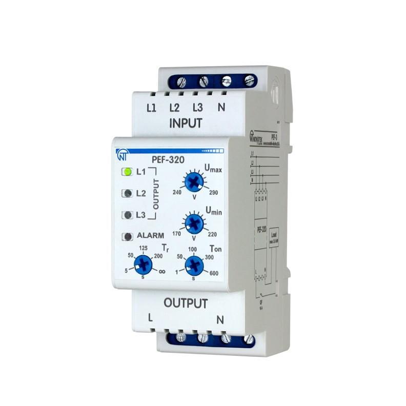Электронный переключатель фаз ПЭФ-320