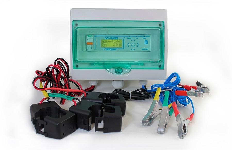 Мобильная станция регистрации параметров электросети, ����
