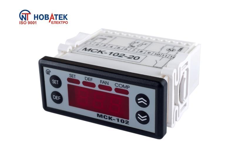 Контролер керування температурними приладами МСК-102-14