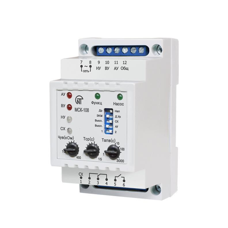 Контролер насосної станції МСК-108