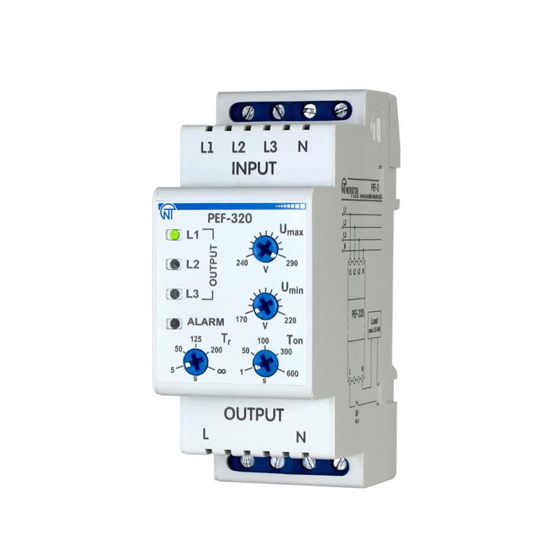 Електронний перемикач фаз ПЭФ-320